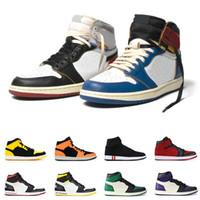 laços de amor venda por atacado-Novo 1 1s Mid Basketball Shoes para homens HOMAGE TO HOME NOVO AMOR ROOKIE DO ANO South Beach designer mens sports sneakers