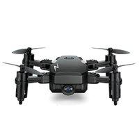 hd fpv großhandel-TXD-G1 Faltbare Mini-Drohne mit / ohne HD-Kamera Hochfester Modus RC Quadcopter RTF WiFi FPV Faltbare RC-Drohne VS E61 / E61hw 2018