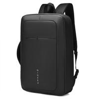 laptop mochila 15 polegadas venda por atacado-Homens de Negócios profissionais Mochila Sacos De Viagem À Prova D 'Água Magro Saco de Escola Laptop Escritório Negócio 15 17 Polegada Mochilas Computador Bolsa USB