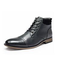 Wholesale brown pointed flat shoes resale online - Men designer dress shoes Luxury men loafers Business Leather Party Wedding Shoe Flat Men shoes US13