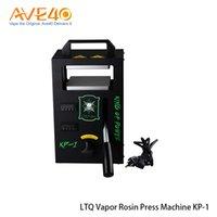 placas aquecidas venda por atacado-Máquina da imprensa da resina de vapor de LTQ KP-1 200W com as placas de aquecimento duplas para DIY Vaping 100% Original