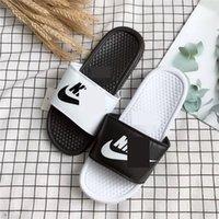 ingrosso marche di lusso di acqua-Luxury NK Uomo Donna Pantofole Designer Sandali Piattaforma Sandali di marca Infradito con sandalo Tag Sandalo Beach Bath Water Shoes 2019 NEWC61801