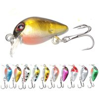 Wholesale mini crankbait resale online - Mini Crankbait Fishing Lure Topwater Artificial Japan Hard Bait mm g Minnow Swimbait Trout Bass Carp Fishing
