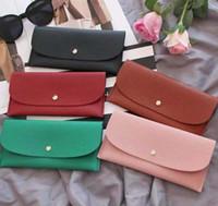 Wholesale bottoms wallet designer long wallet lady multicolor designer coin purse Card holder women classic zipper pocket clutch