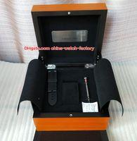 relojes de banda de madera al por mayor-Lujo PAM 1950 Reloj Caja original Papeles Bandas de goma Cajas de madera Destornillador Bolso para PAM 005 111 217 312 382 441 438 507 616 Relojes