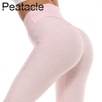 Wholesale sexy yoga pants for women for sale - Group buy Peatacle Yoga Leggings Sports Wear for Women Gym Fitness Tummy Control Woman Workout Leggins Waist High Sexy Clothes Tight Pants