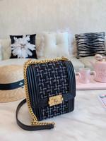 Wholesale pochette clutch resale online - kids_suit Women Genuine Leather Woc Clutch Handbag Designer Set Pochette Bag With Box