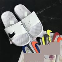 erkek çocuk flip flopları toptan satış-Erkek Tasarımcı Terlik Ayakkabı Lüks NK Sandalet Değiştirilebilir Sihirli Sopa Marka Spor Plaj Sandal Çevirme Plaj Banyo Ayakkabıları 40-45 SizeC61802