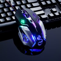 Wholesale gaming computer brands resale online - Snigir brand usb wired usb optical laptops computer X6 Gaming mouse gamers mause mice para jogos for dota2 cs go world of tanks