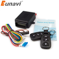 Wholesale keyless entry system door for sale - Group buy Eunavi New Universal Car Remote Central Kit Door Lock Locking Vehicle Keyless Entry System hot selling