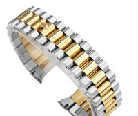 Wholesale watch band parts online - Watch accessories strap Labor time steel strap log type Oyster type constant motion watWatch accessories watches strap bands for ROLX