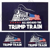 salon dekorları toptan satış-2020 trump araba sticker Donald Trump lokomotif çıkartmalar Tren pencere Sticker Ev Oturma Odası Dekor Duvar Çıkartmaları 4729