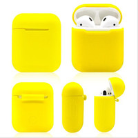 Wholesale Application of Airpods Silicone Sheath Apple Wireless Bluetooth Headset Charging Box Protective Sheath Fall proof Receiving Set Hot