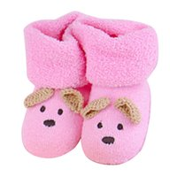 снежная обувь для ребенка оптовых-Winter Kids Baby Boy Girls Warm High Snow Boots Soft Shoes Ankle Sneaker Shoes