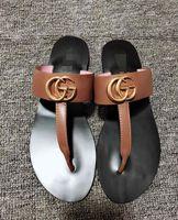 sandálias de praia unisex venda por atacado-Nova Moda Homens e Mulheres sandálias chinelos sapatos de praia ocasional chinelos Top qualidade unisex peep toe sandálias chinelos GG12