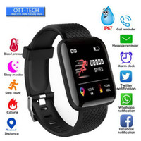 Wholesale smart watch iphone women for sale - Group buy 116 Plus Smart watch Women Bracelets Fitness Tracker Heart Rate Step Counter Activity Monitor Wristband PK PLUS for iphone Android phone