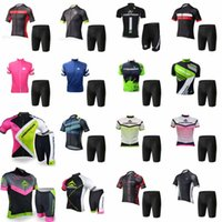 Wholesale MERIDA team Cycling Short Sleeves jersey shorts sets Breathable Sportswear Mountain Bicycle Bike Apparel Cycling Clothing F
