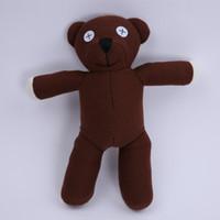 erkek çocuk moda bebek oyuncakları toptan satış-Toptan Fantastik Mr Fasulye TEDDY AYı Çocuk Erkek Kız Dolması Peluş Oyuncak Mr.