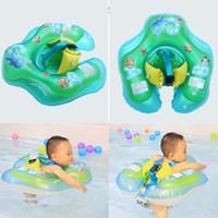 aufblasbarer babyspielplatz großhandel-Aufblasbare Neugeborene Baby Schwimmring PVC Infant Kids Swim Pool Zubehör für Badewanne und Pools Kind spielt 34bx E1