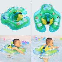 Wholesale inflatable infant swim ring for sale - Group buy Inflatable Newborns Baby Swimming Ring PVC Infant Kids Swim Pool Accessories For Bathtub And Pools Child Playing bx E1
