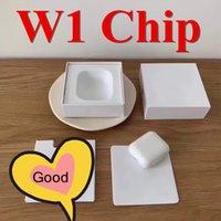 iphone de voz venda por atacado-W1 Chip Bluetooth Caso supercop Dupla orelha fone de ouvido caso funciona toque, controle de voz, conectar ao iCloud, qualidade superior A + PKH1 i500 i100 i200
