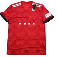 roter fleck gesetzt großhandel-Deutschland Fußball Kleidung 18-19 Club Red Ball Kleidung Erwachsene Kurzarm Set Hersteller Spot Kleinserie