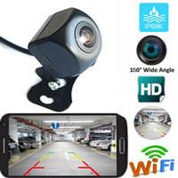 Wholesale wireless backup cameras for cars for sale - Group buy 150 WiFi Wireless Car Rear View Cam Backup Reverse Camera For iPhone Android IOS