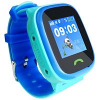 экранные устройства оптовых-GPS Smart Watch Kid Baby Watches Waterproof Touch Screen Smart Call With SIM SOS Call child wristwatch Location Device Tracker