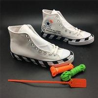 ingrosso scarpe da uomo nero-2019 zebra-stripe 2.0 OFF Chuck 70 nero Bold Orange-Black SHOELACES Taylor 1970S Canvas Uomo Donna Scarpe Moda scarpe da ginnastica di plastica 163892C OG Box