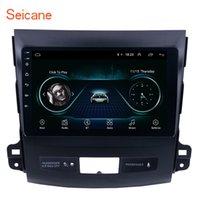 rádio automóvel mitsubishi outlander venda por atacado-Touch Screen Android 8.1 de 9 polegadas GPS Navi Car Stereo para 2006-2014 MITSUBISHI Outlander com WIFI USB suporte a música OBD2 DVR Backup câmera de TV