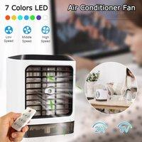 tragbare hausklimaanlagen großhandel-USB Mini tragbare Klimaanlage Luftbefeuchter Luftreiniger Desktop-Lüfter Lüfter für Office Home
