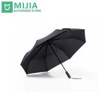 зонт оригинал оптовых-Оригинальный Новый Xiaomi Mijia зонтик Автоматический Солнечный Дождливый Алюминий Ветрозащитный Водонепроницаемый УФ Мужчина женщина Лето Зима