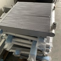 Wholesale heat exchanger cooling resale online - OEM heat exchanger air oil cooler radiator for AC GA22 air compressor with promotion price
