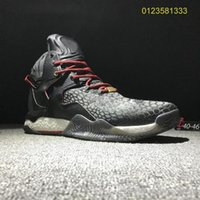 Wholesale derrick rose new sneakers for sale - Group buy Hot sale New Men Basketball Shoes Derrick Rose Sports Shoes Ross Sneakers High Popular shoes online with box