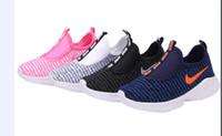 niños zapatos de correr gratis al por mayor-Venta libre del envío niños de la marca deporte casual niños zapatos niños y niñas zapatillas de deporte para niños zapatillas para niños size25-35