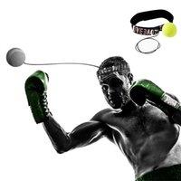 New Boxing Ball Trainer Equipment Fight Boxeo Training Reflex Speed Ball Muay Thai Quick Response Ball Dropshipping