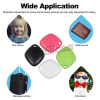 Wholesale alarm for keys resale online - key ITags Smart key finder bluetooth locator Anti lost Alarm child tracker Remote Control Selfie for iPhone X Smartphone