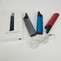 mini kit de iniciación atomizador electrónico al por mayor-Ecig Starter Kits Tanques de aceite Mini niebla atomizador Clearomizer Box Mod Batería Cigarrillos electrónicos Vape Pen