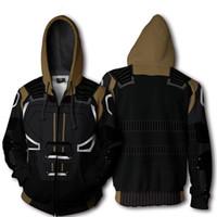 hoodie cinza escuro venda por atacado-X-Men: Dark Phoenix Jean Cinza-Summers Cosplay Phoenix Hoodies 3D Impressão zíper Camisolas homem e senhora Hoodies