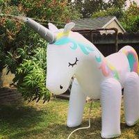детские игрушки оптовых-Unicornn Play Yard Лето Спринклерная Игрушка Пляжный Мяч Спрей Газон Спринклерная Вода Игрушка для Детей На Открытом Воздухе Лето Всплеск Надувной Шланг