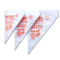 100 PCS Set PP Pastry Bag Cake DIY Icing Piping Cream Bags Reusable Pastry Bags 100pcs Set Cake Decorating Tools