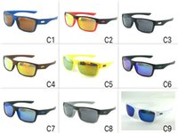 bicicleta o venda por atacado-1079 marca esportiva óculos de sol de Verão Óculos Homens bicicleta de condução óculos de ciclismo óculos 9 cores A +++ Qualidade atacado o navio livre