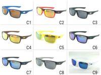 ingrosso marche di biciclette di qualità-1079 occhiali da sole di marchio sportivo estate degli occhiali da sole Uomini biciclette guida di riciclaggio di vetro 9 colori Qualità di A +++ nave libera all'ingrosso