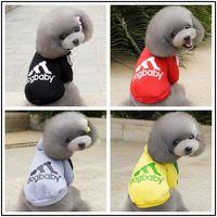 evcil hayvan ürünleri kıyafetleri toptan satış-Köpek Giyim Ürünleri Köpek Yelek Pet Kazak Kış Ceket Ceket Evcil Pamuklu Giysiler Köpek Pet Kostüm Kedi Giyim