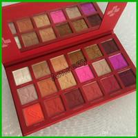 Wholesale blood makeup resale online - 2019 Hot Brand Colors Blood Eye Shadow Makeup Palette Matte Shimmer Nude Eyeshadow Hot Cosmetics