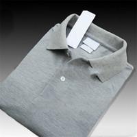 chemises décontractées xs size achat en gros de-Mens Designer Polos Chemises D'été Tops Casual Polos pour Hommes À Manches Courtes Chemise Marque Vêtements Crocodile Broderie Luxuery Polos Taille XS-4XL
