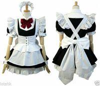 xxl cosplay lolita maids großhandel-Cosplay Lolita Mädchenkleid nach Maß Freies Verschiffen