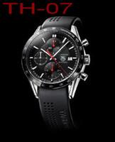 смотреть мужчин оптовых-2019 Топ Мужские HEUER CARRERA F1 Часы из нержавеющей стали с автоподзаводом Часы мужские механические мужские наручные часы