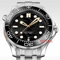 mens aço inoxidável relógio bond venda por atacado-Edição limitada de moda Luxo James Bond 007 Stainless Steel Mens Designer diamante mestre Tag Relógios de pulso Relógios homem montre de luxe