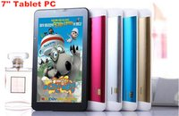 Wholesale 7 inch dual core G Tablet pc Support G G Sim card slot Phone call GPS WiFi FM tablet pc Inch G Phone Call Tablet MTK8312 DHL Free